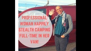 Professional Woman Living in a Van: Gue...