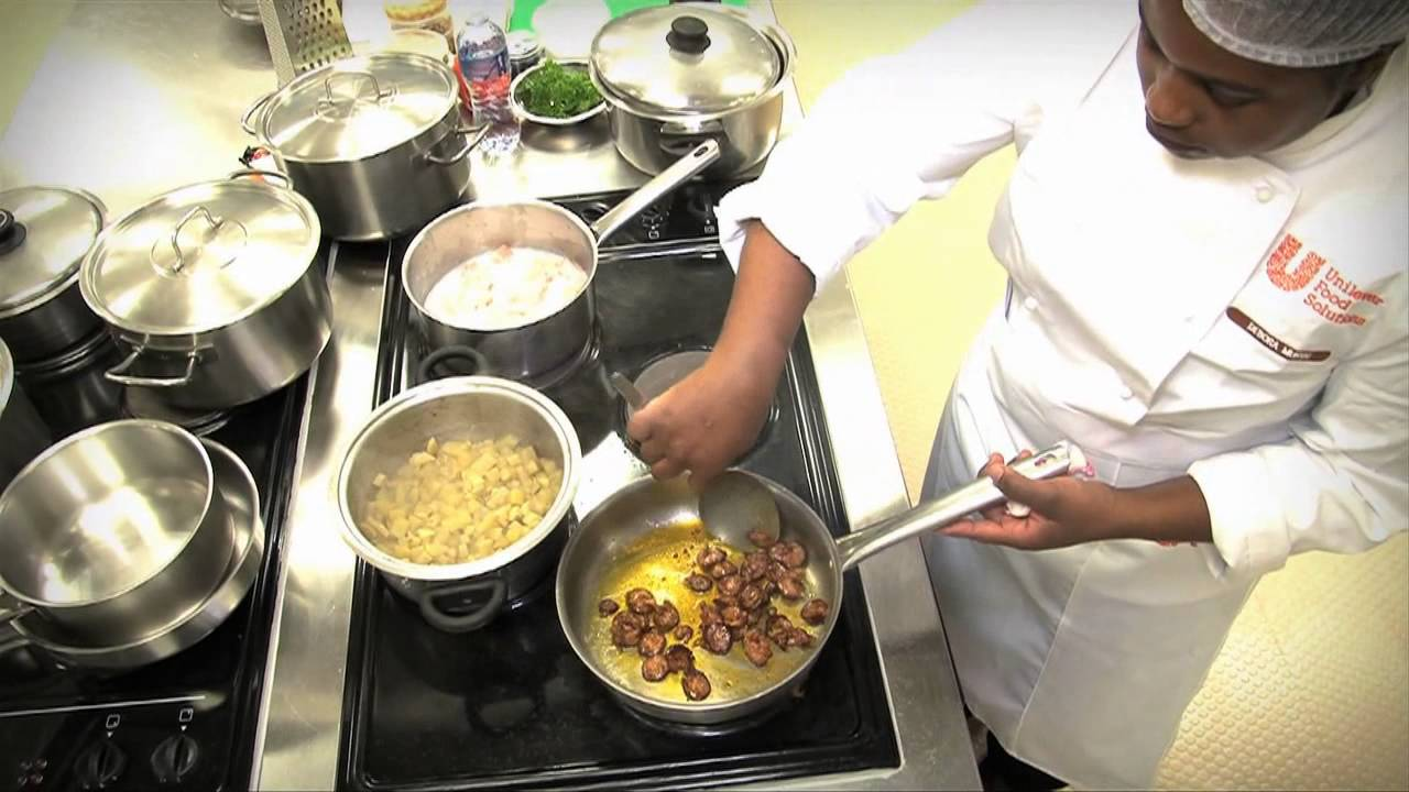Unilever food solutions chef of the year 2013 youtube for Solution cuisine