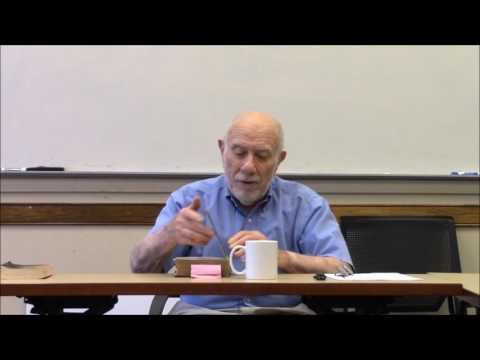 Freud, Robert Paul Wolff Lecture 1