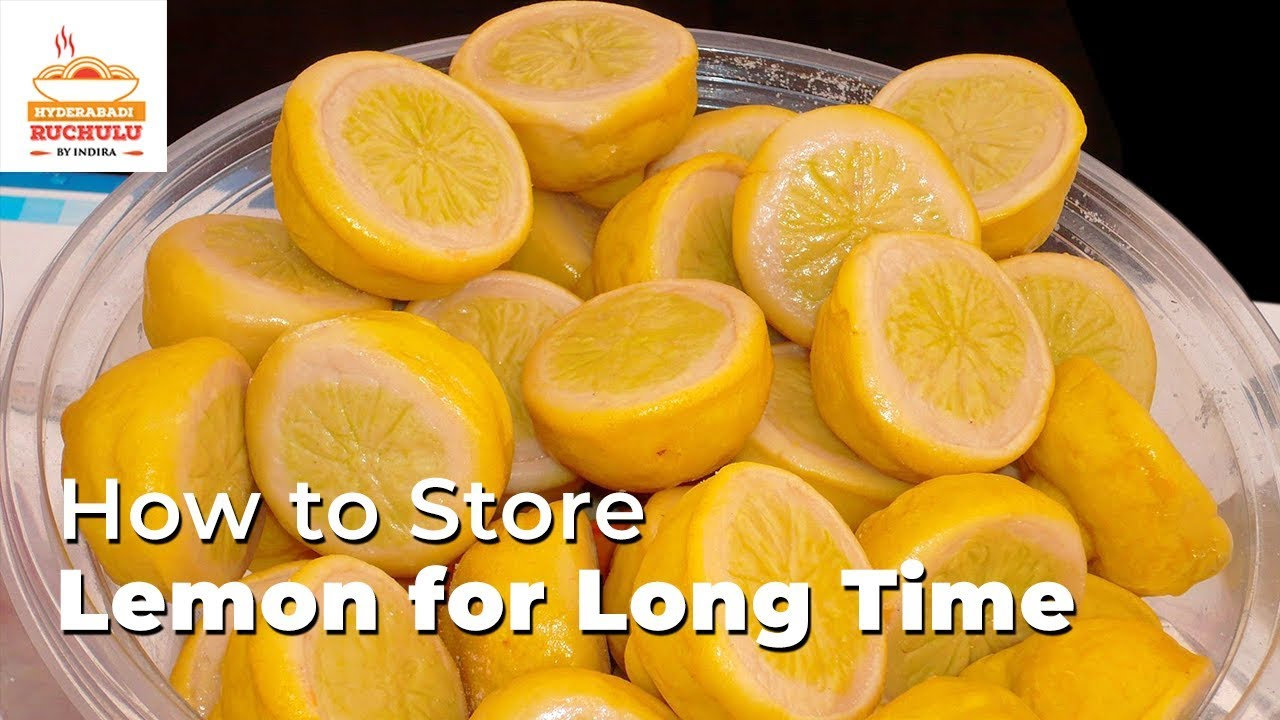 Watch 3 Easy Ways to Store Lemons (with Pictures) video