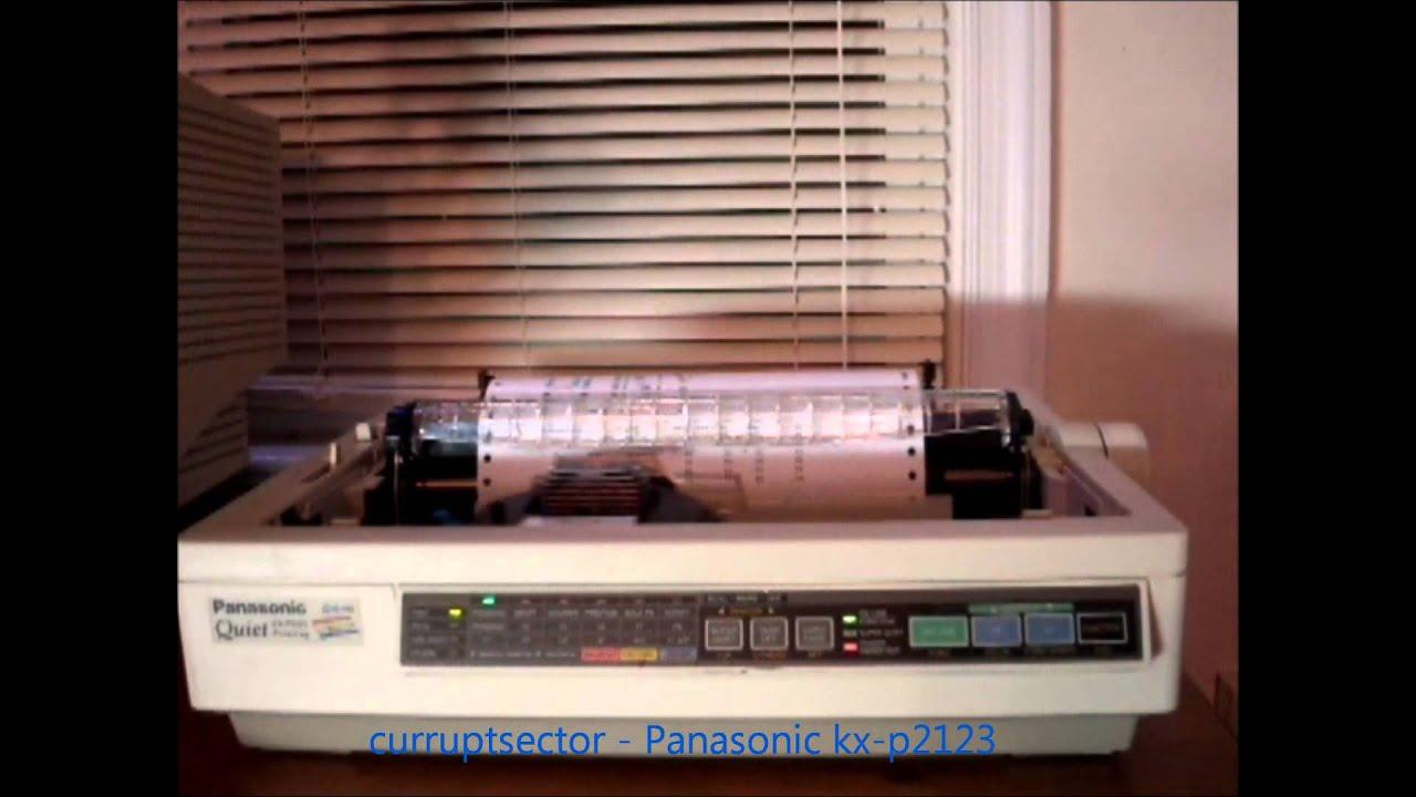 PANASONIC KX P2123 DRIVER FOR WINDOWS MAC