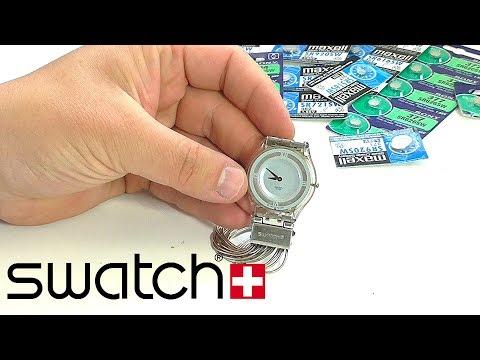 SWATCH – секрет замены батарейки