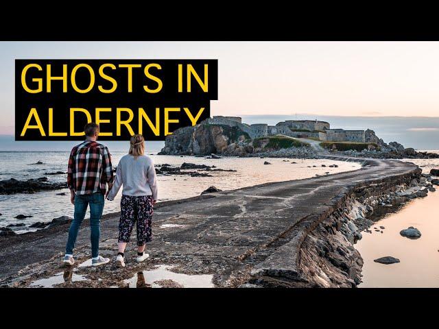 Exploring a HAUNTED Castle | ALDERNEY'S HISTORICAL SIGHTS