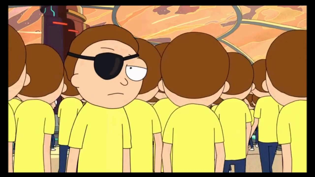 Rick and Morty Season 1 Episode 10 Ending Evil Morty Eyepatch Reveal