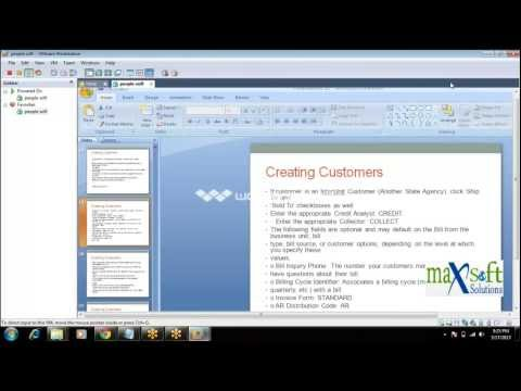 Peoplesoft Finance Online Training Courses | Finance Overview Demo