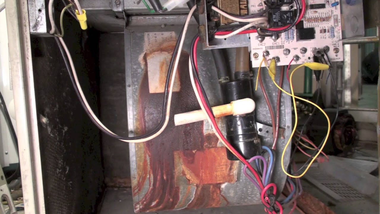 Inducer Replacement 398aaw Carrier Gas Furnace Youtube
