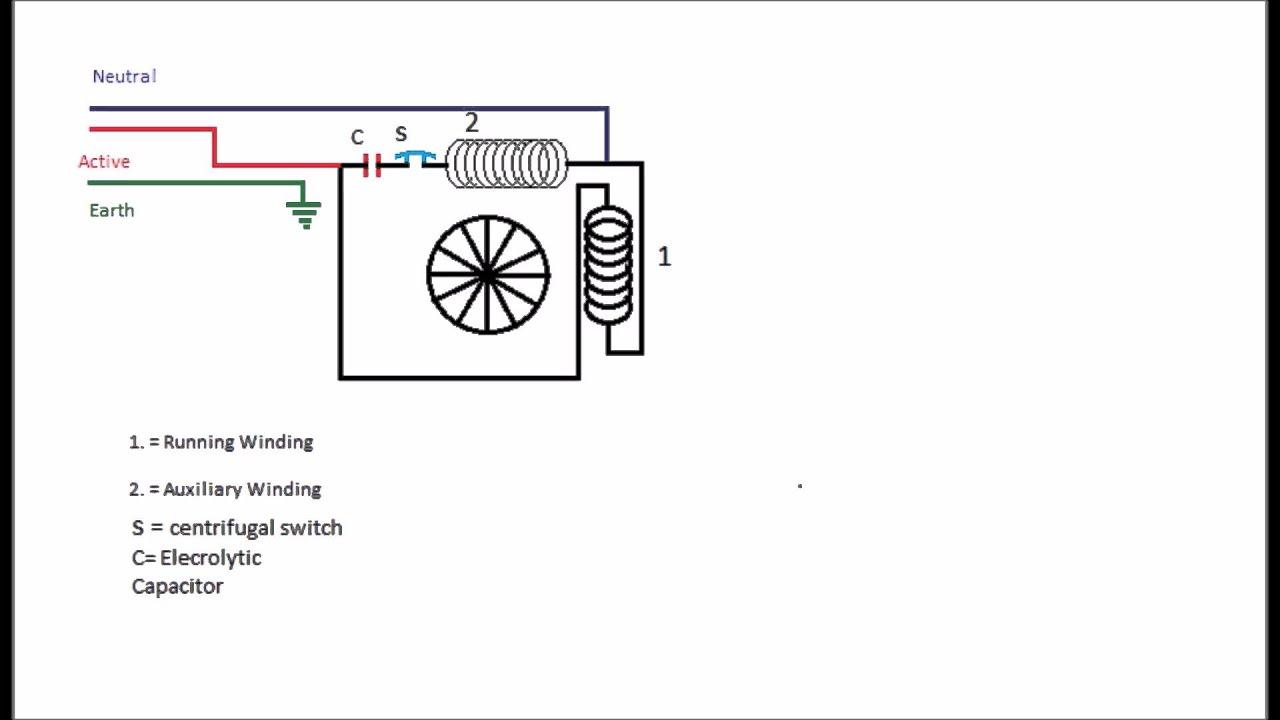 How To Revers Split Phase Capacitor Start Motor YouTube - Psc motor wiring diagram  sc 1 th 168 : wiring diagram for capacitor start motor - yogabreezes.com