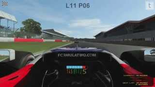 rFactor 2 Formula Two Race - Silverstone GP Circuit