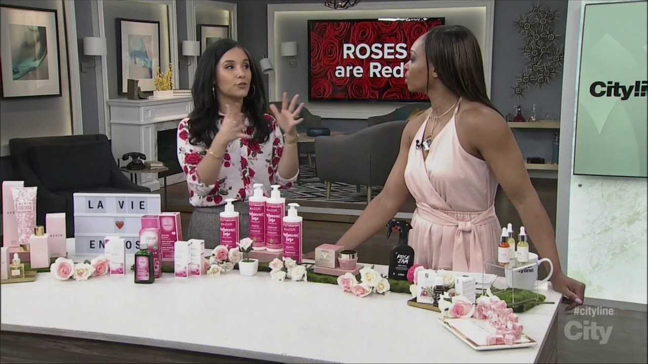 Everything's Coming Up Roses - The Rose Trend in Beauty on CityLine