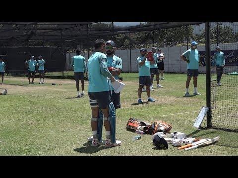 Watch: Dhoni, Kohli mastermind India's training session at Durban   India Tour of South Africa