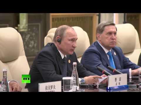 Владимир Путин привез