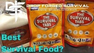 SURVIVAL TABS - Best Bugout Food? 25yr Shelf Life