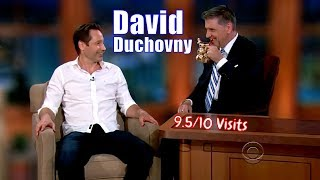 David Duchovny - The First Ever Guest - 9.5/10 Visits In Chronological Order