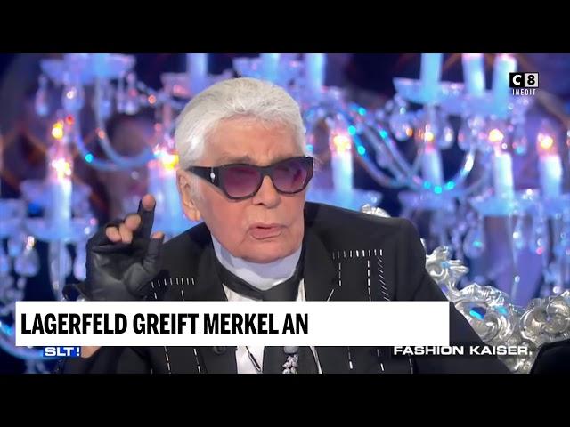 Lagerfeld Greift Merkels Flüchtlingspolitik An Youtube