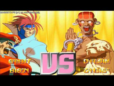 [HD] - Fightcade - Xmen Vs Street Fighter - MAGNETO-PE(BRA) Vs New-Storm(BRA) - Part 1