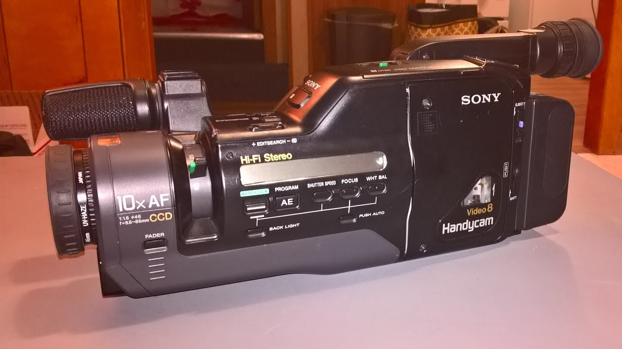 sony handycam tapes