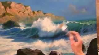 Морская волна .новый видео урок южакова! +79818457723