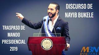 Discurso de Nayib Bukele Traspaso de Mando Presidencial 2019  Oficial HD