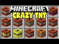 Minecraft CRAZY TNT MOD | ANTIMATTER TNT, NUKE TNT, CRASH TNT & MORE!!