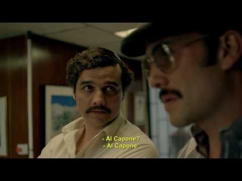"""Narcos Scene """"Al Capone"""""""