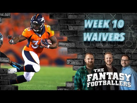 Fantasy Football 2016 - Week 10 Waivers, Streams of the Week, FootClanHelp.com - Ep. #303
