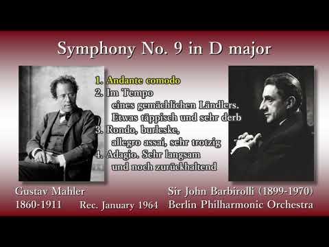 Mahler: Symphony No. 9, Barbirolli & BPO (1964) マーラー 交響曲第9番 バルビローリ
