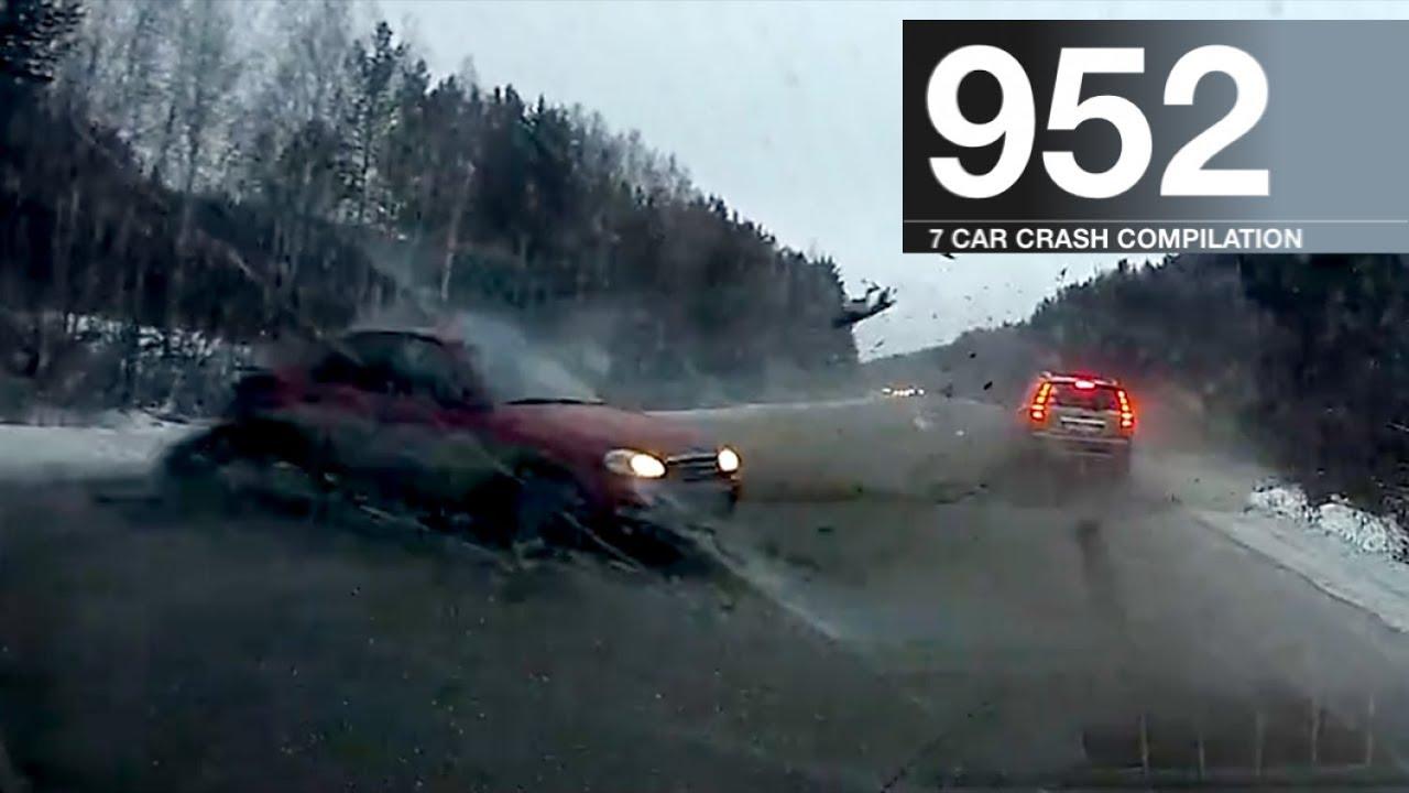 Car Crash Compilation 952 – January 2017