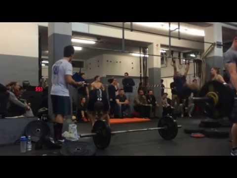CrossFit Open Workout 15.1 / Jonas Müller