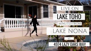 LAKE TOHO HOME | 4974 LAZY OAKS WAY | SAINT CLOUD, FLORIDA |