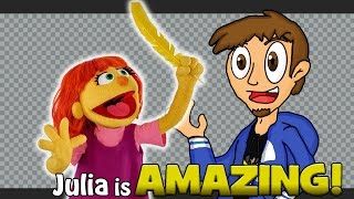 Julia is AMAZING! (Sesame Street's Connection to Autism)