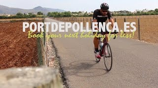 Mallorca Alcudia - Cycling from Puerto Pollensa to Port d'Alcudia