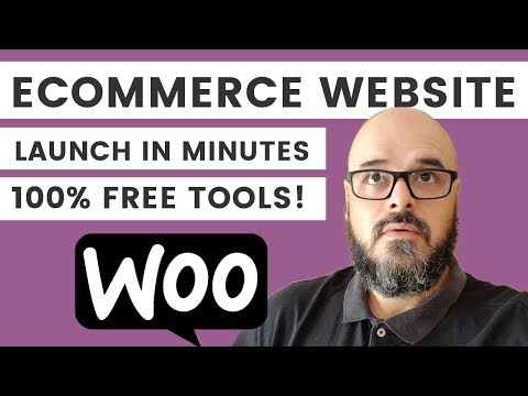 How to make a Free eCommerce Website with Wordpress in Minutes   New Tools for 2018