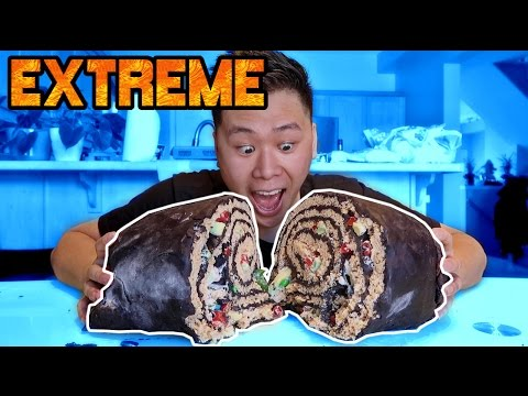 DIY GIANT SUSHI ROLL!! (100+ LBS)