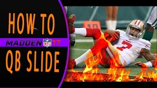 HOW TO SLIDE IN MADDEN 17!