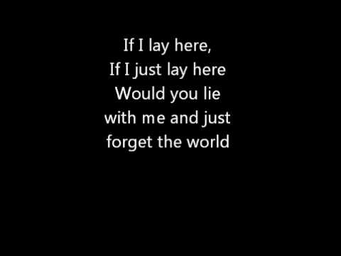 Snow Patrol - Chasing Cars [Lyrics] [HQ]