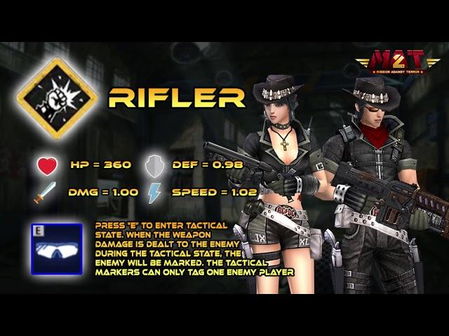 PVP MODE : SIEGE WAR Rifler