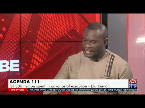 Agenda 111: We are ready to pay the contractors - Deputy Finance Minister, Dr. John Kumah