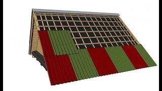 Как накрыть крышу шифером