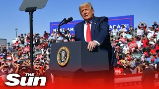 Live: Trump campaign rally in Waterford Township, Michigan