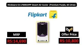 Hindware CS-176001HPP Desert Air Cooler (Premium Purple, 60 Litres)
