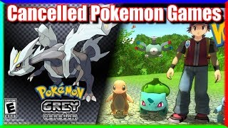 Top 5 Cancelled & Unreleased Pokemon Games | Gaming History