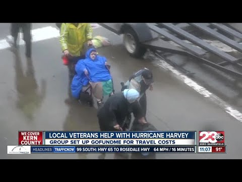 Bakersfield veterans heading to Houston to help with recovery efforts