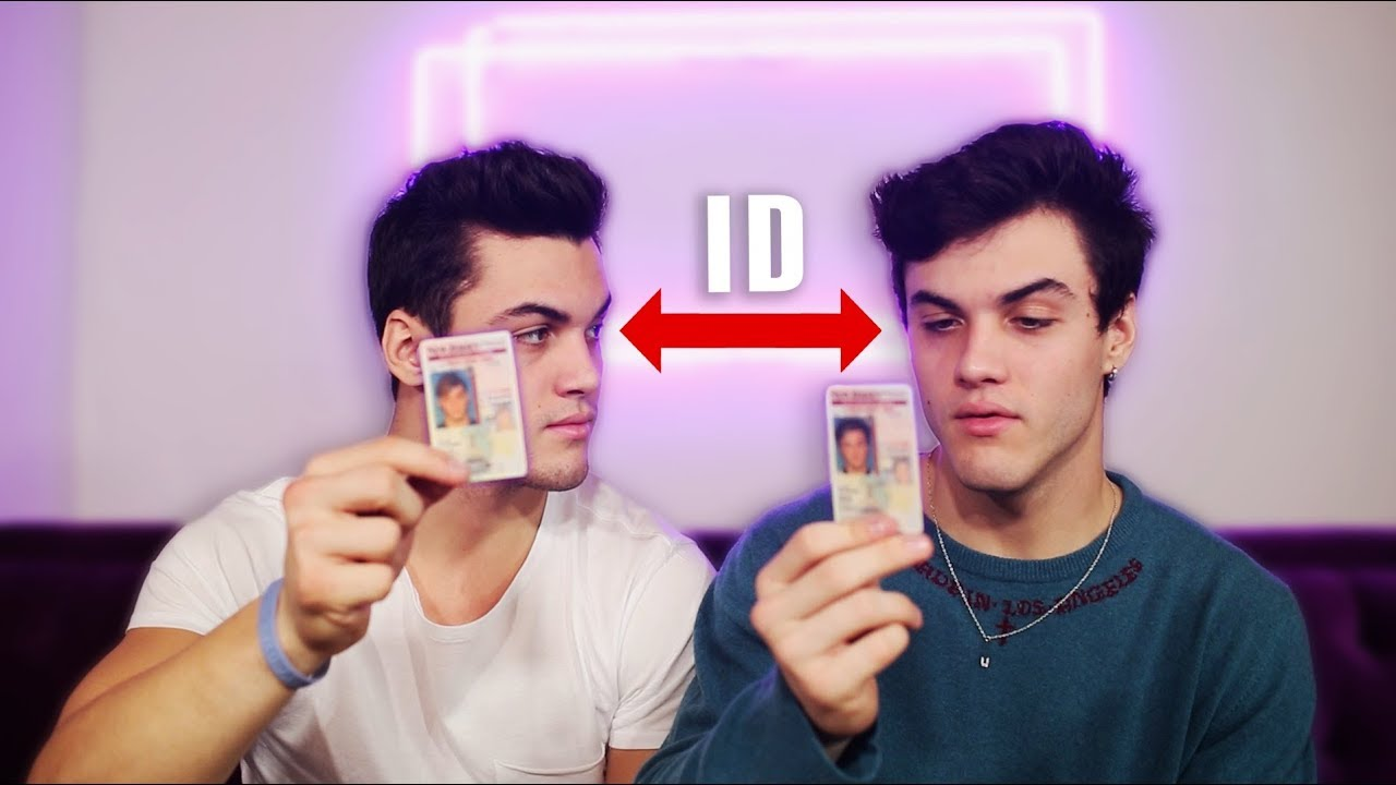 TWINS IMPERSONATE EACH OTHER FOR A DAY