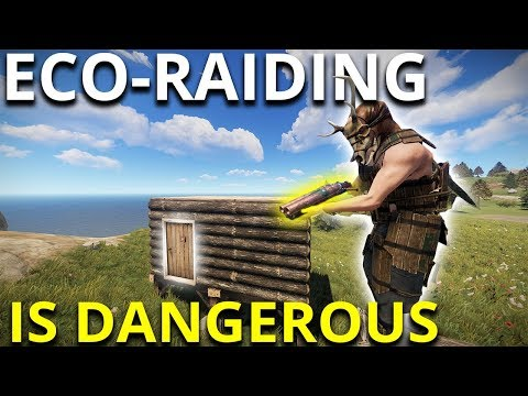 ECO-RAIDING Is DANGEROUS If You're Careless - Rust Survival Gameplay