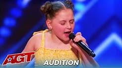 "Annie Jones: Shy 12-Year-Old Aussie Girl SLAYS ""Dance Monkey"" On @America's Got Talent"