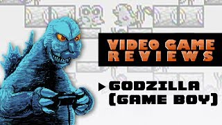 Godzilla (Game Boy) - MIB Video Game Reviews Ep 6