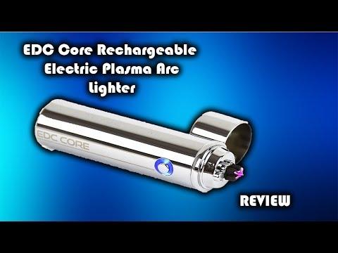 EDC Core Rechargeable Plasma Double Arc Lighter Review