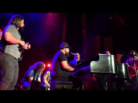 Zac Brown Band performing Let It Be