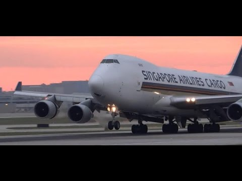 (HD) Plane Spotting Playtime (Lots of Heavy Aircraft) at Chicago O