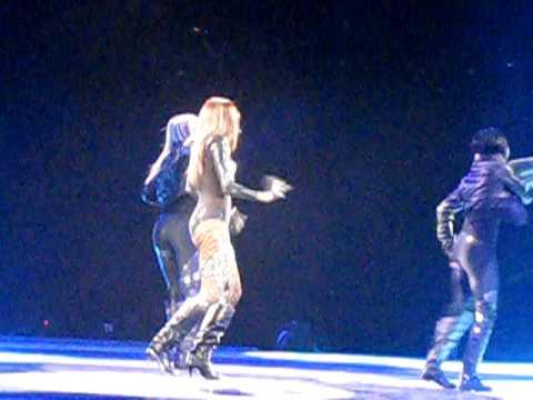 "Like A Boy - Ciara (Live Britney Spears ""The Circus"" Tour 2009, London)"